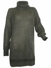 ASYMMETRISCHER Pullover Khaki Von Laura Scott 36/38