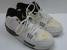 best service f3b3a 7d3a9 Jordan Flight Boys Size 7Y Black   White Basketball Shoes 6493