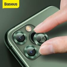 Baseus Back Camera Lens Screen Protector Film Cover Shell For iPhone 11 Pro Max