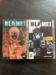 BLAME! Volume 1 And 2 manga Tsutomu Nihei Good!