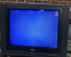 "insignia NSF24TV Retro Gaming CRT Color Television TV 24""flat Face No Remote"