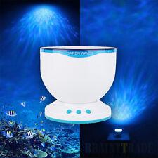 Romantic Ocean Waves Projector Light Daren Waves LED Night Light Speaker Lamp