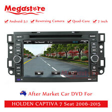 "7"" Car DVD GPS Navi For HOLDEN CAPTIVA 7 Seat 2006-2015 Quad Core Android 5.1"