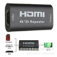 1080P 40M 130FT 4K*2K HDMI Extender Repeater Amplifier Booster Joiner Adapter GB