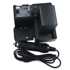 DSTE 2x BP-828 BP828 Battery + DC26 Charger for Canon HF-G30 HF-XA20 HF-XA25