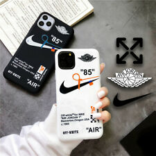 "Nike"" 85"" Jordan de color blanco ""aire"" iPhone caso X/XS, XS Max, 11,11 Pro, 11 Pro Max"