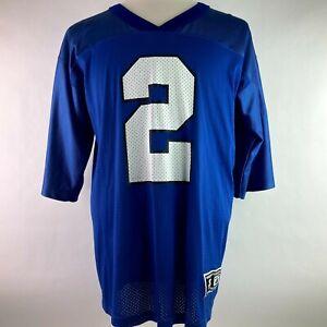 Starter Tim Couch #2 Kentucky Wildcats Football Jersey Men's Size Large 48 Blue