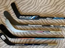 Lot Of 5 Composite Mini Shinny Hockey Sticks Bauer Warrior Goalie Knee