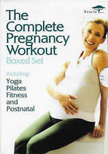 THE COMPLETE PREGNANCY WORKOUT - DVD Box Set - Yoga Pilates Fitness Postnatal