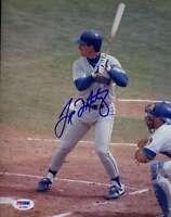 Tino Martinez 3-1991 Psa/dna Coa Signed 1/1 Original Image 8x10 Photo Autograph