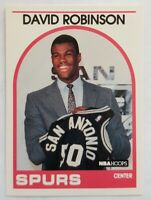 David Robinson Hoops 1989 NBA Sports Trading Card #138 San Antonio Spurs