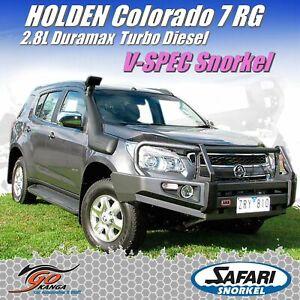 SAFARI 4X4 SS176HF SNORKEL for HOLDEN COLORADO 7 RG 2.8L 4dr Wagon 4WD 06/12 - 0