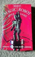 Vintage Merit Magic Robot Quiz Game   NOT COMPLETE  ~ Ray Rohr Cosmic Artifacts