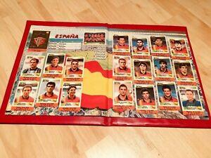 panini europa 96, album complete stickers set rare original, russian edition