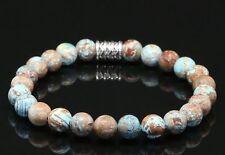 Herbst Jaspis Armband Bracelet Perlenarmband Buddha