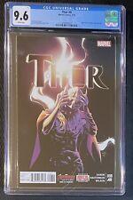 Thor #8 CGC 9.6 W 2015 Jane Foster Revealed as Thor!
