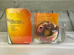 Genuine Microsoft Office Home and Student 2007 W/ Product Key & CD