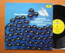 DG 2538 213 Schubert Piano Trio Sonata Movement Trio di Trieste NM/VG Stereo LP