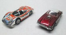 2 Vintage Tyco Slot Cars Corvette & Grand Prix Car No Reserve