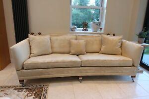 Handmade duresta trafalgar hornblower sofa drop arm knoll new £5400