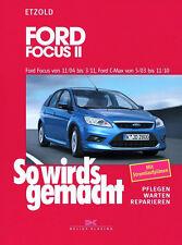 Reparaturanleitung Ford Focus 2004-2011 C-Max Wartungsbuch So wirds gemacht 141