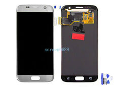 Lcd Display Touch Screen Ricambio Schermo Per Samsung Galaxy S7 SM-G930F argento