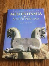 Cultural Atlas of Mesopotamia and the Ancient Near East Michael Roaf HC DJ EUC