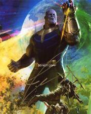 "Josh Brolin Avengers: Infinity War Thanos 8x10"" Reprint Signed Photo Marvel RP"
