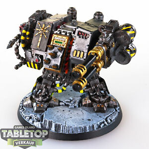 Chaos Space Marines - Iron Warriors Dreadnought (Umbau) - gut bemalt