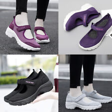 Женские дышащие нескользящие туфли открытый повседневный ходьбы кроссовки сетка Кроссовки