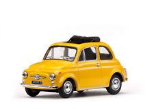 1/43 Scale model Fiat 500 F, Yellow 1965