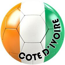 decal sticker car bumper flag soccer ball foot football ivory coast cote ivoire