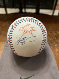 Mookie Betts Signed 2017 All Star Baseball PSA DNA Coa Dodgers Autographed