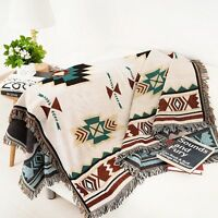 Home Decor Blanket Sofa Cover Wall Hanging Rrea Rugs Tapestry Aztec Navajo Throw