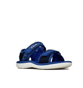 Clarks Sandal Surfing Tide Navy Combi Size 6 G RRP £24