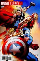 Marvel Legacy #1, Greg Land Variant NM  Marvel Comics