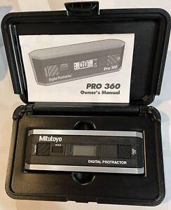 MITUTOYO 950-317 - PRO 360 DIGITAL PROTRACTOR LEVEL *BrandNew*
