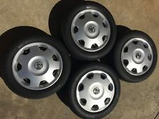 4 x Factory Holden Barina 98-02 Rims 14 x 5.5 Wheel Covers p/up East Keilor 3033