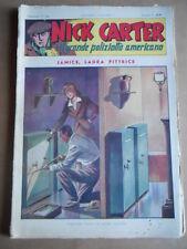 Nick Carter Il Grande poliziotto americano Anni 40 n°72 ed. NERBINI  [G369]