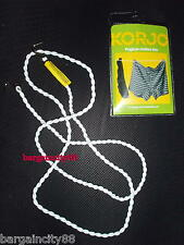 NEW KORJO Pegless Travel Camping No Peg Clothes Line Airer Rope Drier 3M