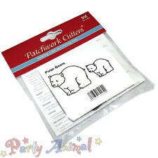 Sugarcraft Patchwork Cutters-Christmas- Polar Bears