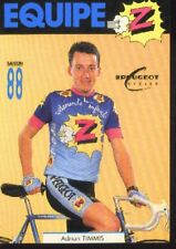 ADRIAN TIMMIS cyclisme carte card Cycling Cycliste Z PEUGEOT 88