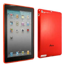 Proporta Mizu Red Tough Silicone Shell Protective Case Cover for Apple iPad 2