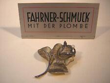 Art Deco Brosche Silber vergoldet Perle Schmuck Theodor Fahrner Pforzheim um1930