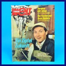 Monde Libre 1/1984 Hettstedt Walter lendrich segment soudage RDA-Magazine