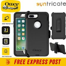 OTTERBOX Defender Rugged Tough Shock Case for iPhone 7 8 Plus - Black