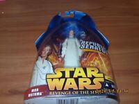 Star Wars Revenge of the Sith Mon Mothma Republic Senator Action Figure NEW