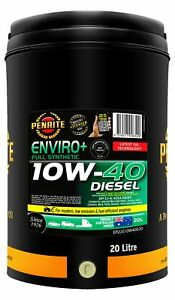 Penrite Enviro+ 10W-40 Diesel Cj-4-Sm Engine Oil 20L fits Hyundai Grandeur 3....