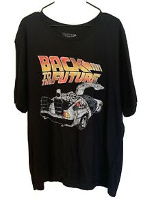 Vintage Style Back To The Future T-shirt XXL