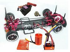 Alloy&Carbon 1/10 SAKURA D3 Drift Racing Frame & SKYRC LEOPARD ESC Motor Combo
